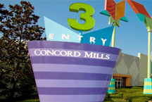 Concord hotel in north carolina hotel near concord mill Concord mills mall aquarium